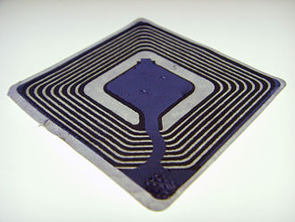 Track and trace - An example of a generic RFID chip.