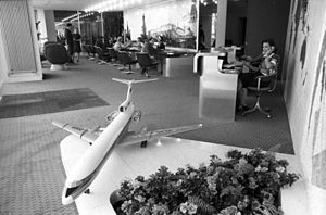 RIAN archive 700775 Aeroflot Airlines office.jpg