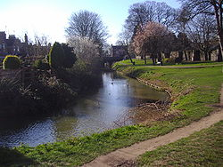 RIVER GAYWOOD close to the site of the Kettleswell Mill 12th March 2007.JPG