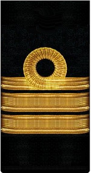 Captain 1st rank - нарукавный знак флота 1917