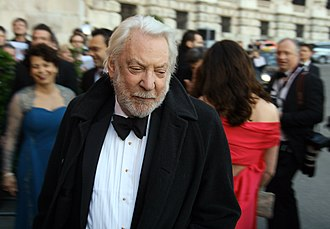Donald Sutherland - Sutherland in April 2011