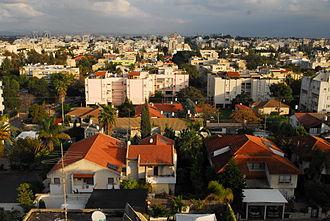 Ra'anana - Panorama of Ra'anana