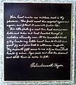 Rabindranath Tagore monument inscription in Gordon Square.jpg
