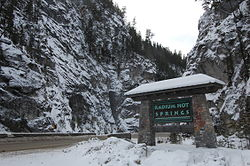 Radium Hot Springs BC Welcome Sign.JPG