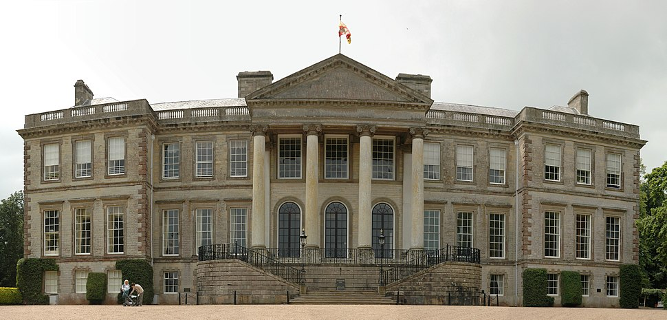 Ragley Hall Panorama Front