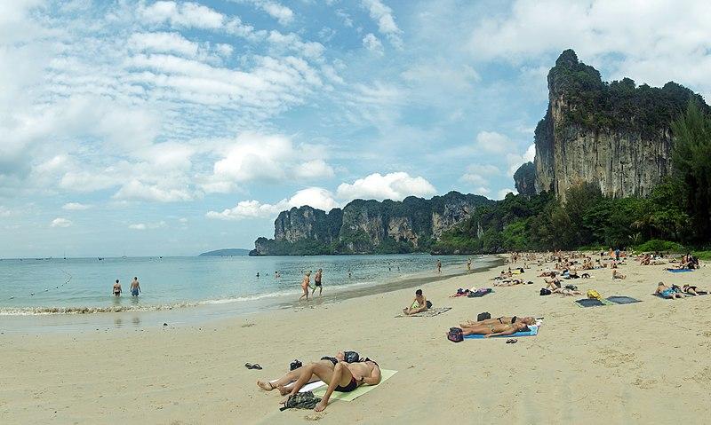 Railay Beach; beaches in Thailand
