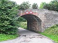 Railway bridge by Milton. - geograph.org.uk - 250771.jpg