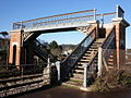 Railway footbridge, Dawlish Warren - geograph.org.uk - 1632667.jpg