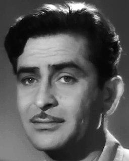 Raj Kapoor Indian film actor