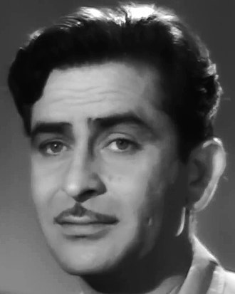 Raj Kapoor - (born Shrishti Nath Kapoor; 14 December 1924 – 2 June 1988) was an Indian film actor, producer and director of Indian cinema. He was born at Kapoor Haveli in Peshawar to actor Prithviraj Kapoor and his wife Ramsarni Kapoor.