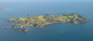 Rakino Island - The island from the southeast
