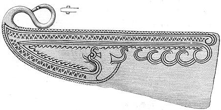 Rakkniv av brons skåne