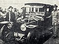 Rallye Monte Carlo 1912, Henri Rougier à l'arrivée, sur Turcat-Méry.jpg