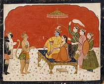 Rama's Court, Folio from a Ramayana (Adventures of Rama) LACMA AC1999.127.36.jpg