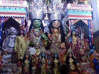Ramrajatala Neighbourhood in Howrah in West Bengal, India