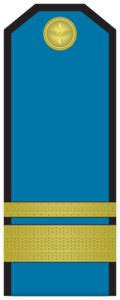 Rank insignia of Старшина of the Bulgarian Air forces.png