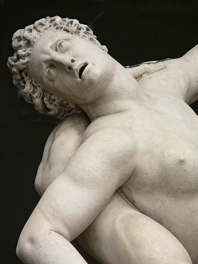 Rape of the Sabine Women (detail), (1583) by Giambologna at the Loggia dei Lanzi in Florence