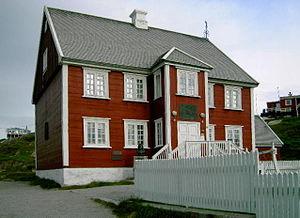 Knud Rasmussen - Rasmussen family house in Ilulissat