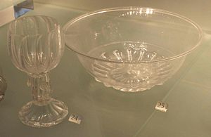 George Ravenscroft - Examples of Ravenscroft's Glass in the V&A