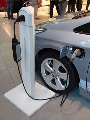 Government incentives for plug-in electric vehicles - Plug-in electric vehicles subject to incentives in some countries include battery electric vehicles, plug-in hybrids and electric vehicle conversions. Shown here is a Toyota Prius Plug-in Hybrid recharging