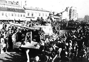 3rd Ukrainian Front - The troops of the 3rd Ukrainian Front to come to Bucharest 31 August 1944