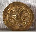 Regno longobardo, emissione aurea di ariperto II, zecca di pavia, 701-712, 03.JPG