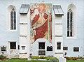 Reichenau St Margarethen 1 Pfarrkirche hl Margaretha Christophorus-Fresko 17092015 7622.jpg