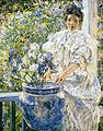 Reid Robert Lewis Woman on a Porch with Flowers.jpg