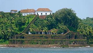 Reis Magos Village in Goa, India