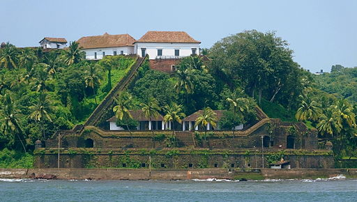 Reis Magos Fort - View from Mandovi River