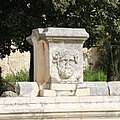 Relief in Roman forum in Zadar 01.jpg