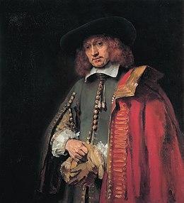 Προσωπογραφία του Jan Six, λάδι σε μουσαμά, 112x102 εκ., Άμστερνταμ, Συλλογή Six