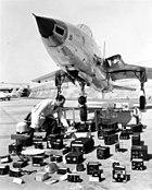 Republic F-105B with avionics layout 060831-F-1234S-046