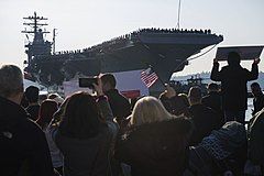 Return Home USS Nimitz.JPG