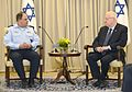 Reuven Rivlin hosted, in the president's residence, the high command staff of the Israeli police. July 13, 2015 (3).jpg