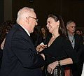 Reuven Rivlin in Jasmine conference with Ofra Strauss.jpg