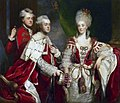Reynolds - George, 2nd Earl Harcourt, his wife Elizabeth, and brother William.jpg