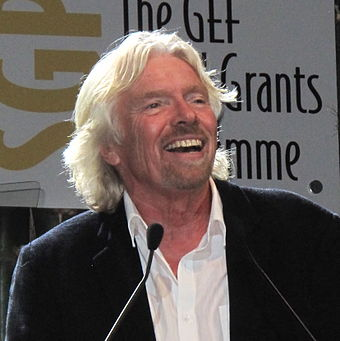 Branson at the United Nations Conference on Sustainable Development in 2012