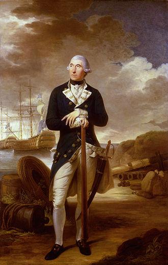 Richard Kempenfelt - Portrait as a Rear Admiral