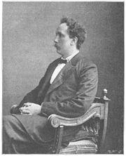 Richard Strauss um 1900, Reproduktion eines Photos aus der Illustrierten Sport & Salon (Quelle: Wikimedia)