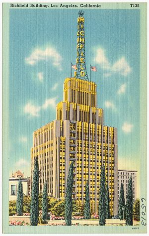 Richfield Tower - Image: Richfield Building, Los Angeles, California (65013)