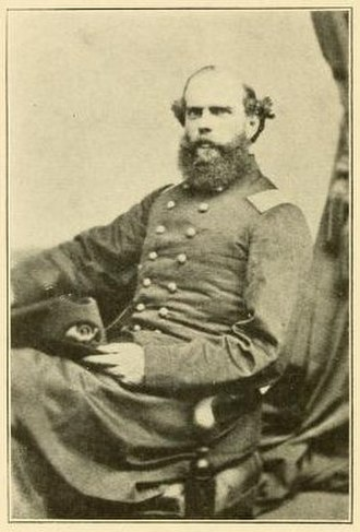 3rd Regiment Massachusetts Volunteer Militia - Col. Silas P. Richmond, commanding officer of the 3rd Massachusetts during its second enlistment