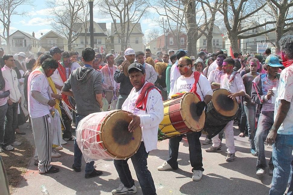 Richmond Hill Holi 2013 Drummers