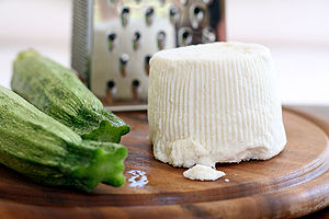 Types of cheese - Ricotta from Italy