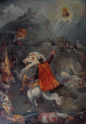 Fortress of Klis - Petar Kružić fighting the Ottomans
