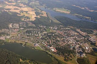 Rimbo Place in Uppland, Sweden