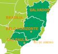 Rio de Janeiro bid map for the 2016 Summer Olympics - football preliminaries (cropped).PNG