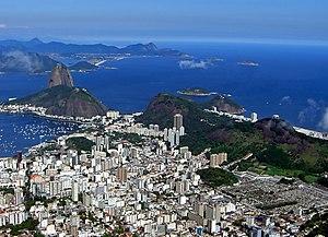 View of Rio de Janeiro from Corcovado Mountain