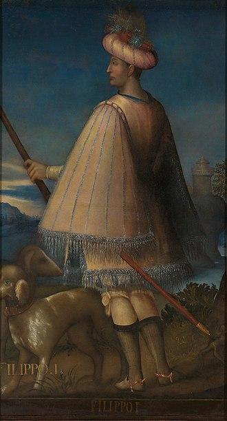 Philip I, Count of Savoy - Image: Ritratto di Filippo I Google Art Project
