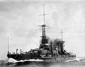 Rivadavia-class battleship - Image: Rivadavia Battleship LOC 14781u